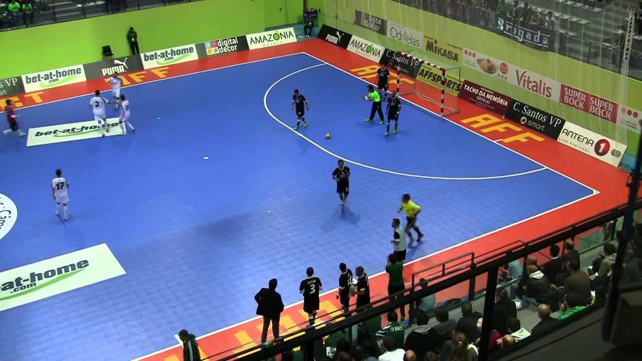 Futsal :: Uefa Elite - 1 Jogo :: Sporting - 5 x Târgu Mures (Roménia) - 3 de 2011/2012