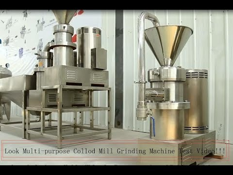 Sesame Peanut Almond Nut Butter Grinding Machine 2020(Multi-purpose,Universal Colloid Mill)