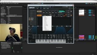 Global Deep House - Bass sounds with Serum