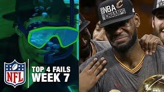 Top 4 Fails (Week 7) | Shek Report | NFL