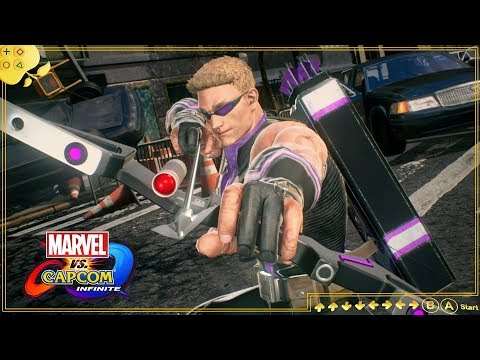 GAVIÃO ARQUEIRO: ELE NÃO FOI ESQUECIDO | Marvel vs. Capcom Infinite | Especial Guerra Infinita