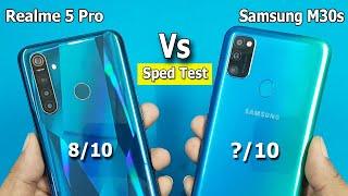 Samsung M30s vs Realme 5 Pro Speed Test / Comparison || Antutu Benchmark Scores