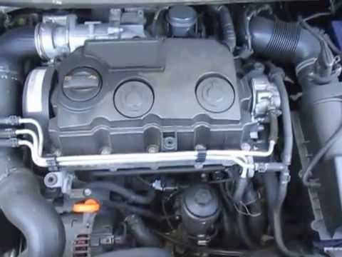 VW19288 VW CADDY 1.9TDi BLS MANUAL 2007 ENGINE TESTING ...