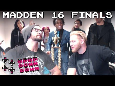 The Champ vs Oklahomie- Madden tournament finals