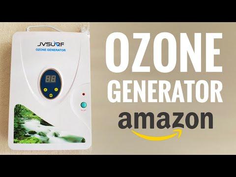 Ozone Generator Machine O3 How to use clean water (Setup Instructions - Amazon)