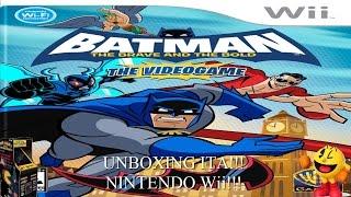 Batman : The Brave and The Bold Il Videogioco - Unboxing ITA - Nintendo Wii