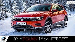 2016 Volkswagen Tiguan | SNOW TEST Drive