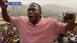 Sunday Igboho Dares Governor Makinde, Visits Igangan As Ultimatum To Herders Expires