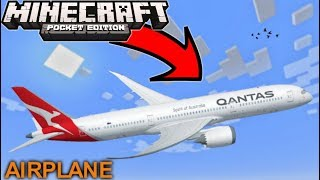 Get A Working Controllable Airplane In Minecraft PE 1.4.3+
