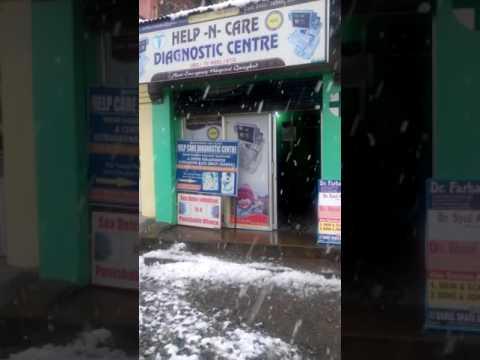 Fresh Snow fall in Qazigund Kashmir