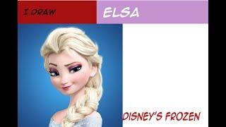 ELSA DISNEY'S FROZEN!!