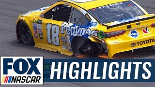 Kyle Busch Loses a Wheel in the Pits   2017 DOVER   FOX NASCAR