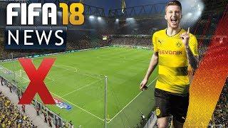 SIGNAL IDUNA PARK NICHT IN FIFA18 DABEI! - GAMEPLAY EINDRÜCKE   FIFA NEWS