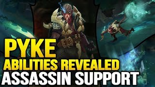 pyke abilities revealed the assassin support   the bloodharbor ripper league of legends