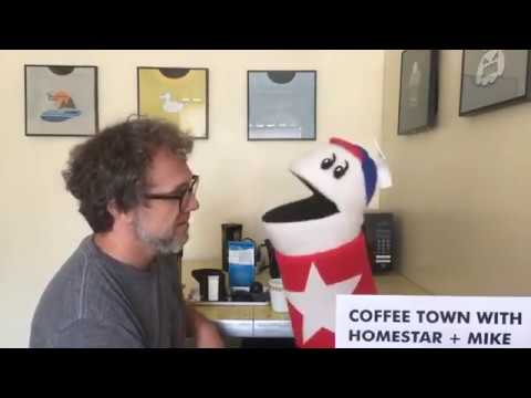 Coffee Town w/ Homestar + Mike - Episode 86 - @StrongBadActual Instagram Live Stream