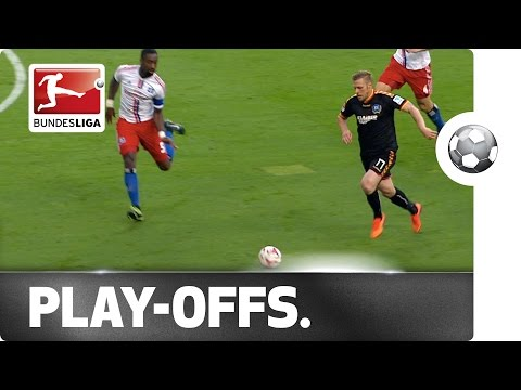 Bundesliga Play-Off First Leg: Hamburger SV - Karlsruher SC
