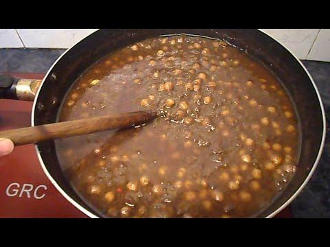 Lahori Chikar Cholay Recipe Pakistan  Lahori香辣鹰嘴豆配方