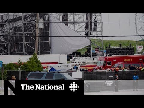 Radiohead stage collapse death to be subject of inquest   CBC Exclusive