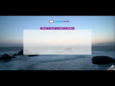Website Template With A Fishing Theme