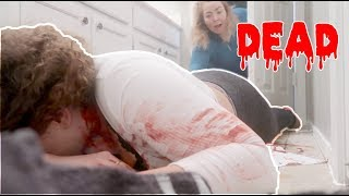 DEAD PRANK ON MOM !! mom freaks out!