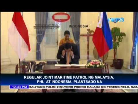 Philippines, Malaysia and Indonesia to conduct regular joint maritime patrols