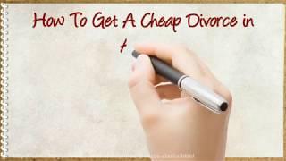 How to Get a Cheap Divorce in Alaska