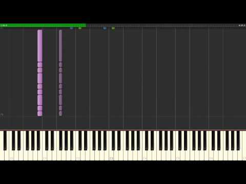 Black And Blue — Bring Me The Horizon, How To Play  Piano Synthesia