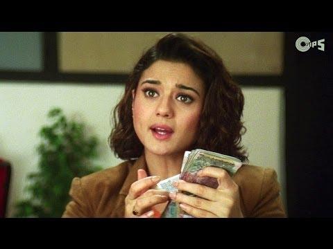 Preity Zinta Taking Bribe - Dil Hai Tumhara Scene