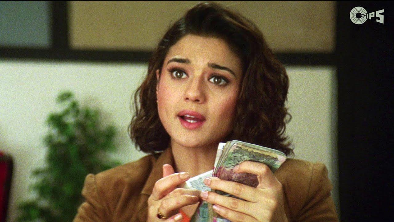 Preity Zinta Taking Bribe - Dil Hai Tumhara Scene - Youtube-7279