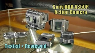 sony HDR-AS50R Action Cam Tested  Reviewed