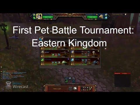 Tournament 1: Eastern Kingdoms Pet Battle Brawl