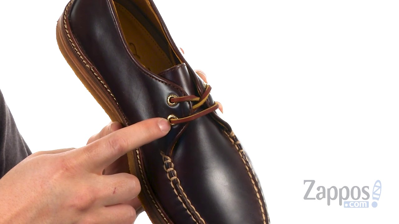 Sperry Gold Captain's Ox Crepe SKU