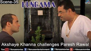 Akshay Khanna Challenges Paresh Rawal (Hungama)