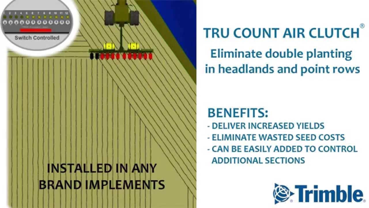 Tru Count Air Clutch by Trimble