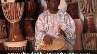 Djembe Drumming Lesson: Message from Master Drummer Lamin Jassey