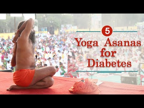 5 Yoga Poses to Cure Diabetes | Swami Ramdev