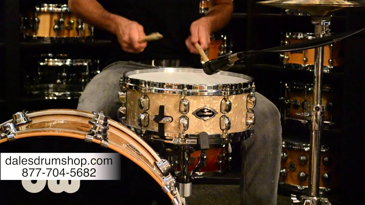 tama vintage white marine pearl snare drum dale 39 s drum shop youtube. Black Bedroom Furniture Sets. Home Design Ideas