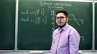 9 класс. Уравнение гармонических колебаний. Для сдающих ОГЭ.