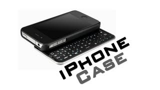 apple iphone 4 4s bluetooth keyboard case mini slide out
