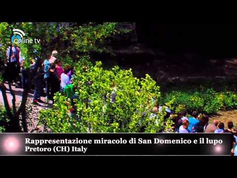 Sacra Rappresentazione Il Lupo Di San Domenico Pretoro (ch) Italy 2014