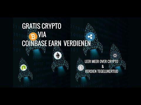 !!Verdien Gratis Crypto Met Coinbase Earn!! Nieuwe Lessen (Free Crypto)🔥