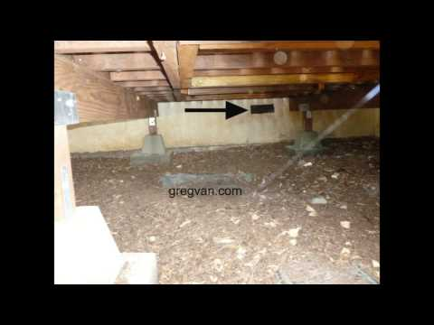 Avoid Blocking Raised Floor Foundation Vents - Deck Building And Construction