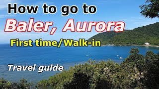 Part 1 - BALER, Aurora Tour/Sightseeing 2019.. (Aurora Province tour)