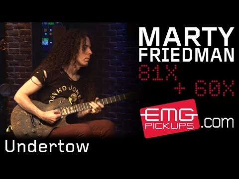 "Marty Friedman performs ""Undertow"" on EMGtv"