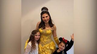 Family creates Disney magic at home