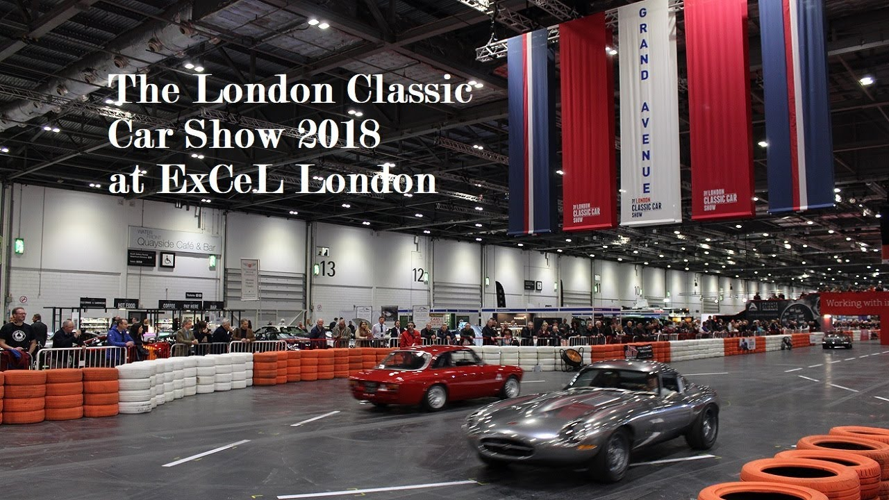 Review The London Classic Car Show At ExCeL London YouTube - London classic car show