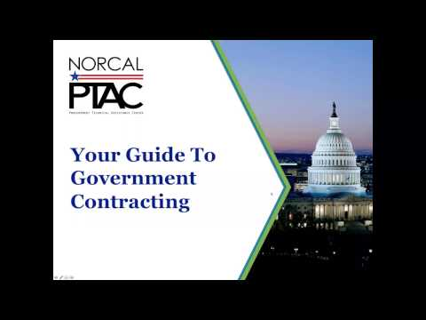 Your Guide to Government Contracting - Webinar