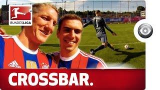 Lahm, Neuer & Schweinsteiger - Crossbar Challenge thumbnail