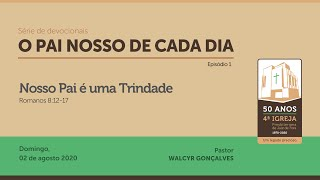O PAI NOSSO DE CADA DIA   Série de devocionais
