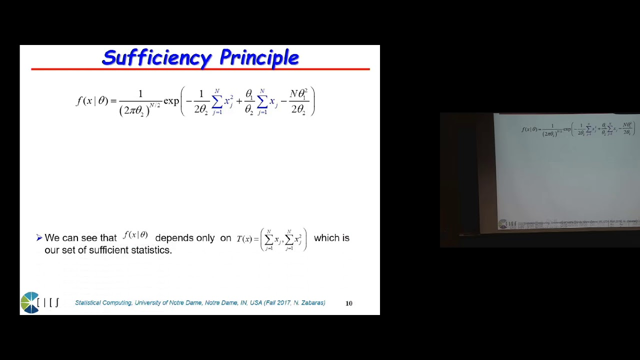 Lecture 6  Introduction to Bayesian Statistics, Exponential Family of  Distributions